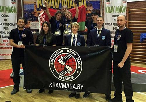 20 ноября 2018 года белорусские краверы привезли «золото» с чемпионата Европы!